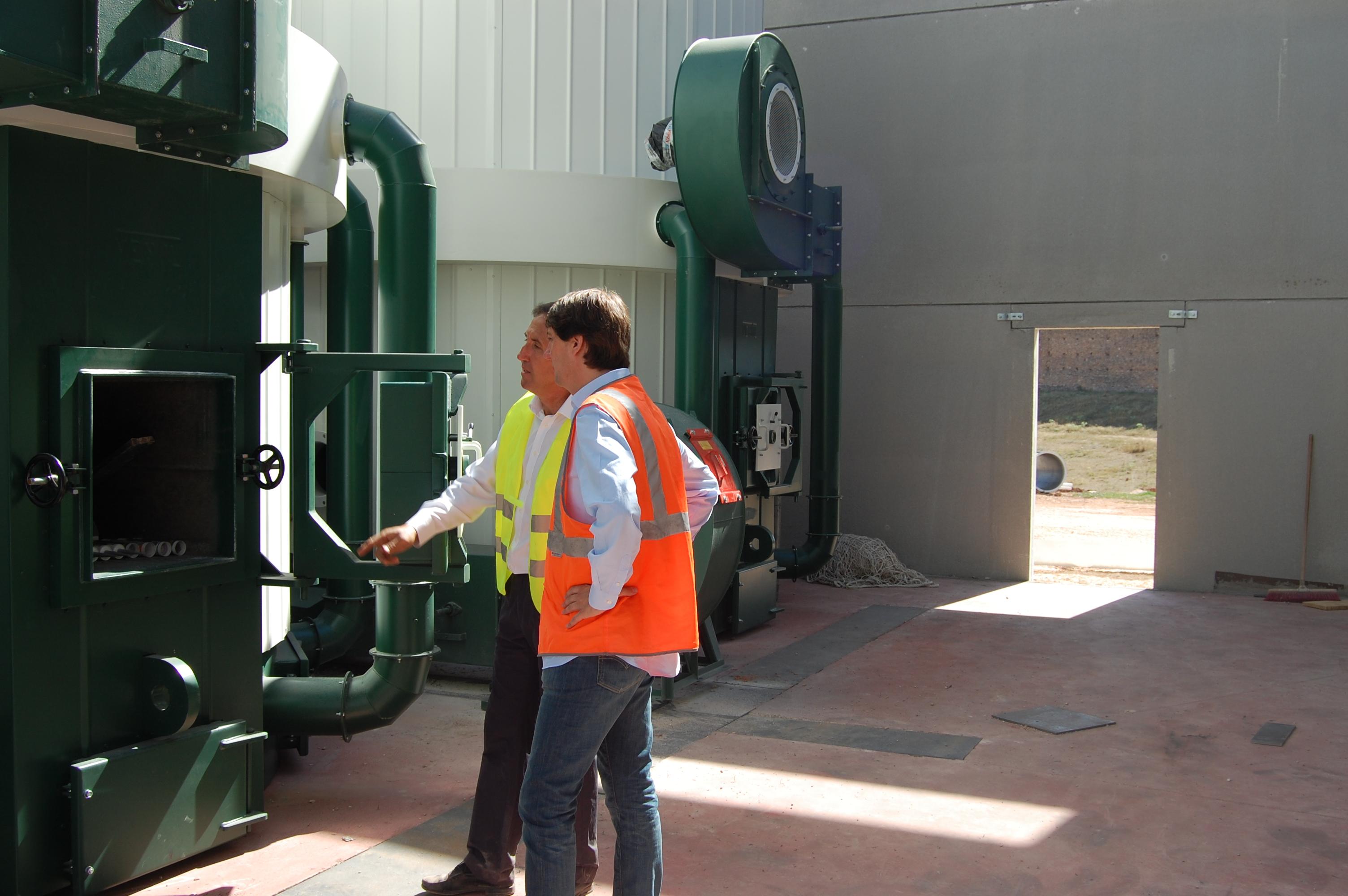 Soria presentará un proyecto pionero en renovables a los fondos Faro de Europa que hibrida energía de biomasa y solar