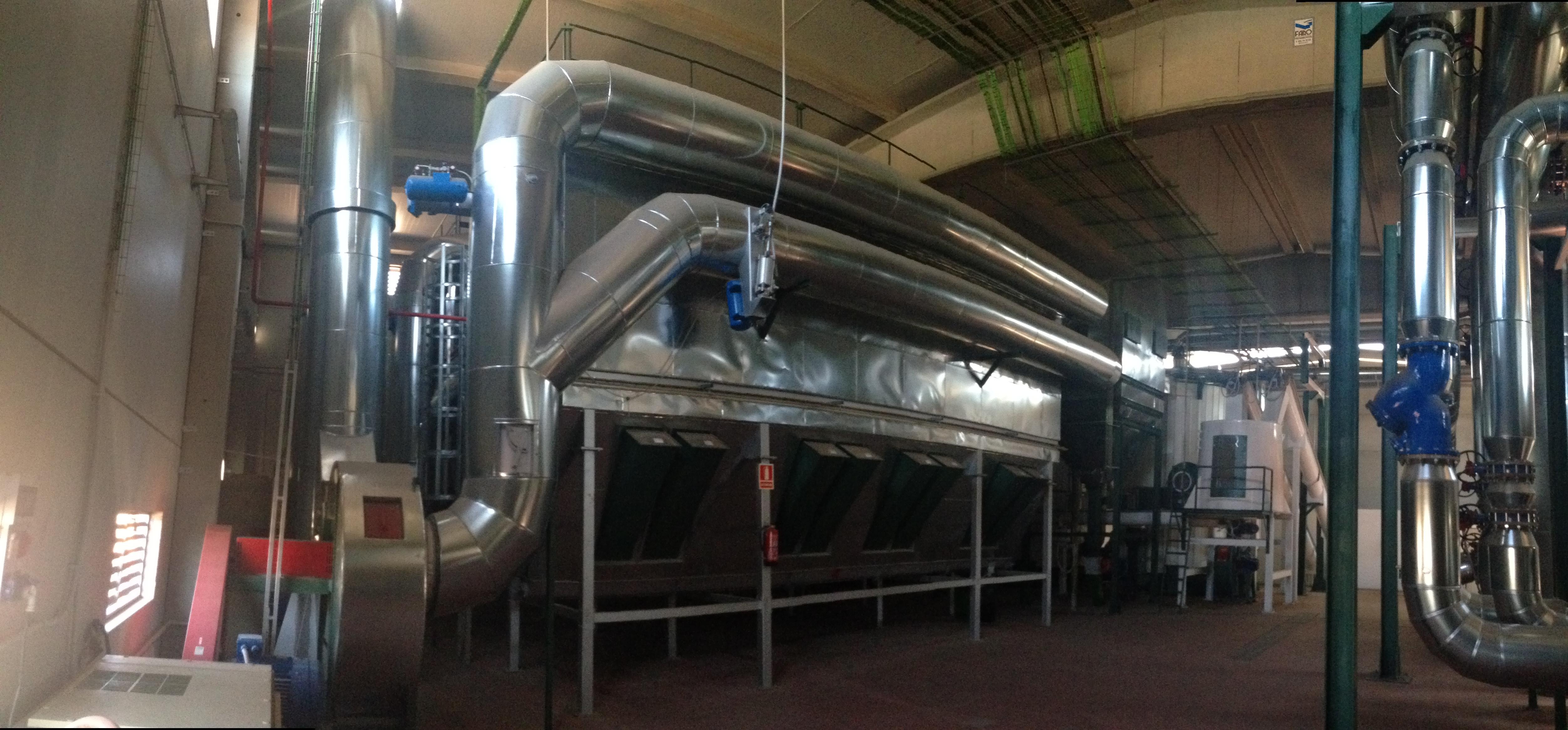 La Red de Calor de Soria continúa su ampliación con un nuevo depósito de inercia en la central térmica