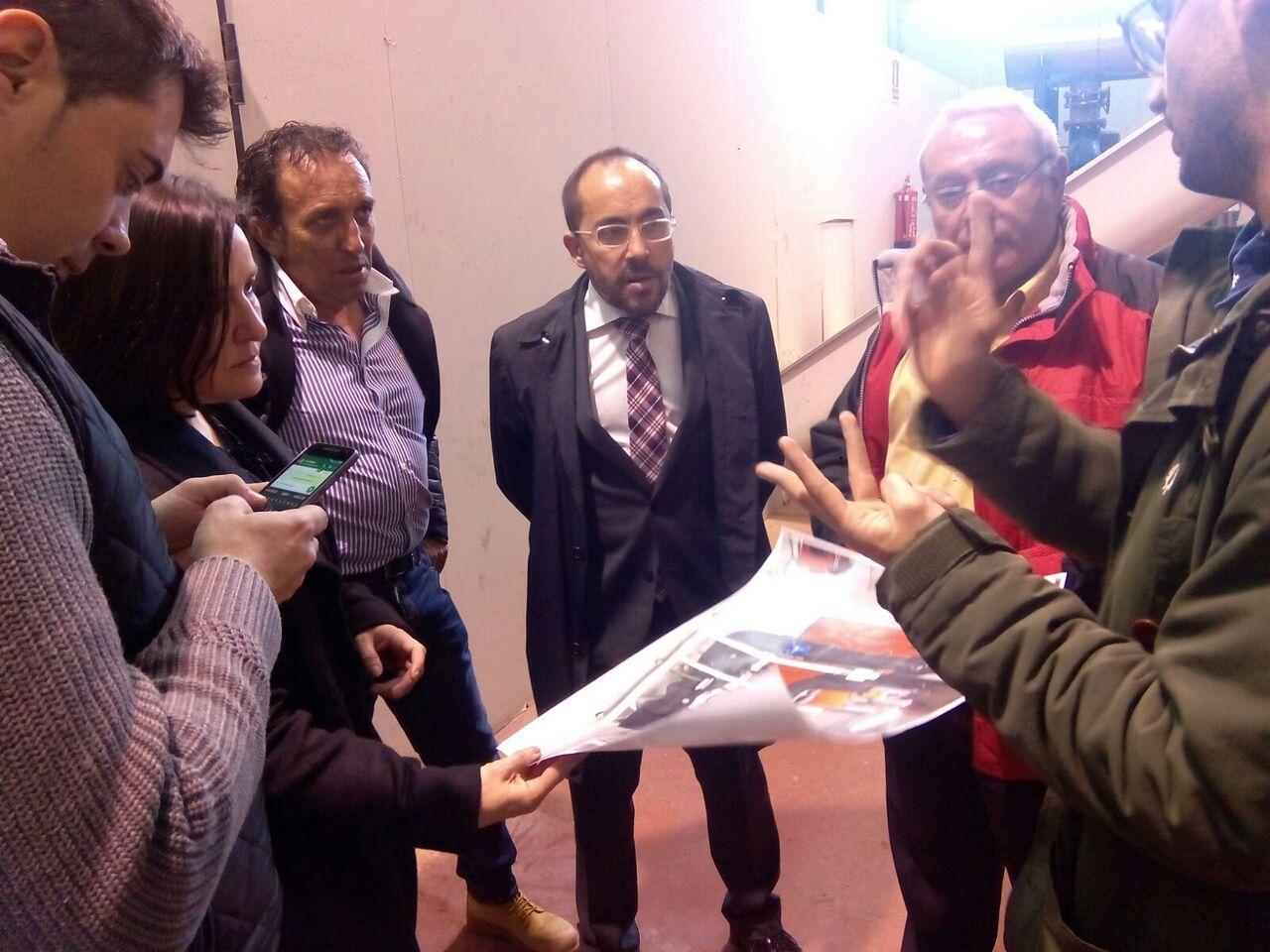 Los diputados provinciales visitan la Central Térmica de Biomasa de Soria en el marco de su estrategia