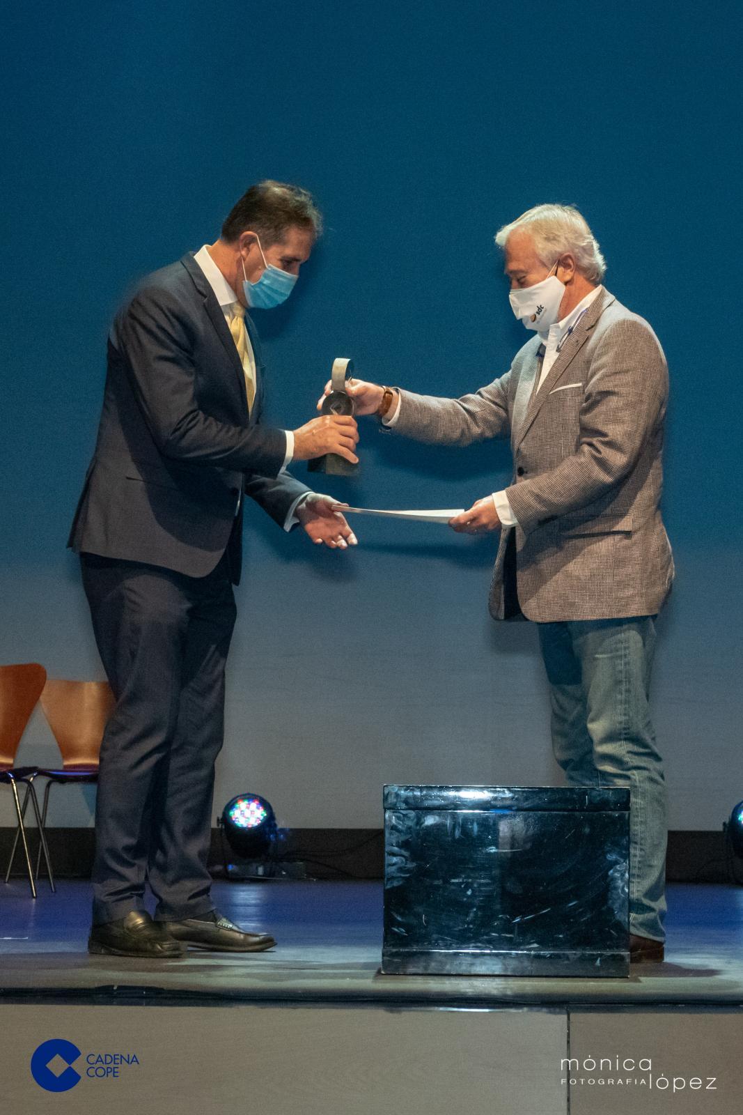 Alberto Gómez Premios Cope Guadalajara Premio Empresa
