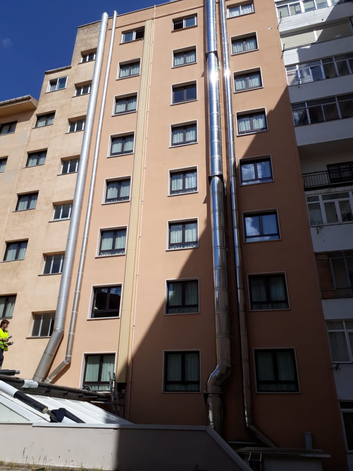 El equipo de Rebi conecta el Hotel Alfonso VIII de Soria