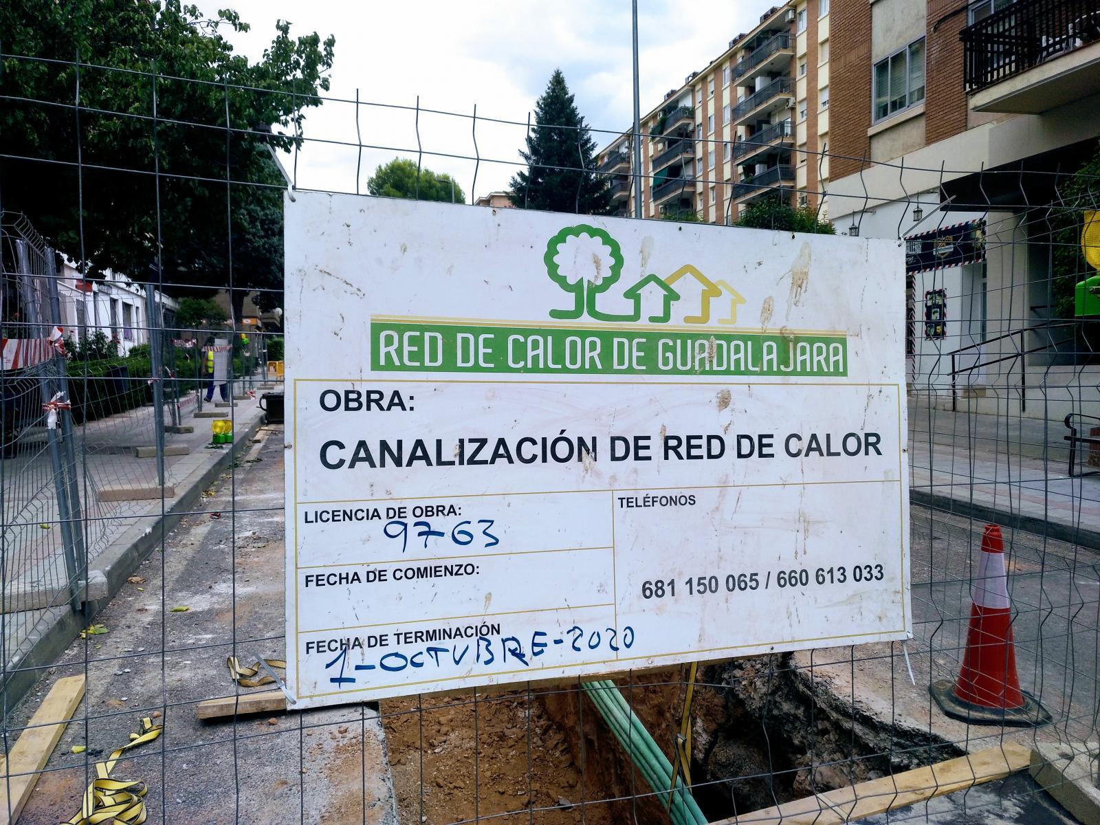 La Red de Calor con Biomasa de Guadalajara comienza a abastecer de energía a sus usuarios