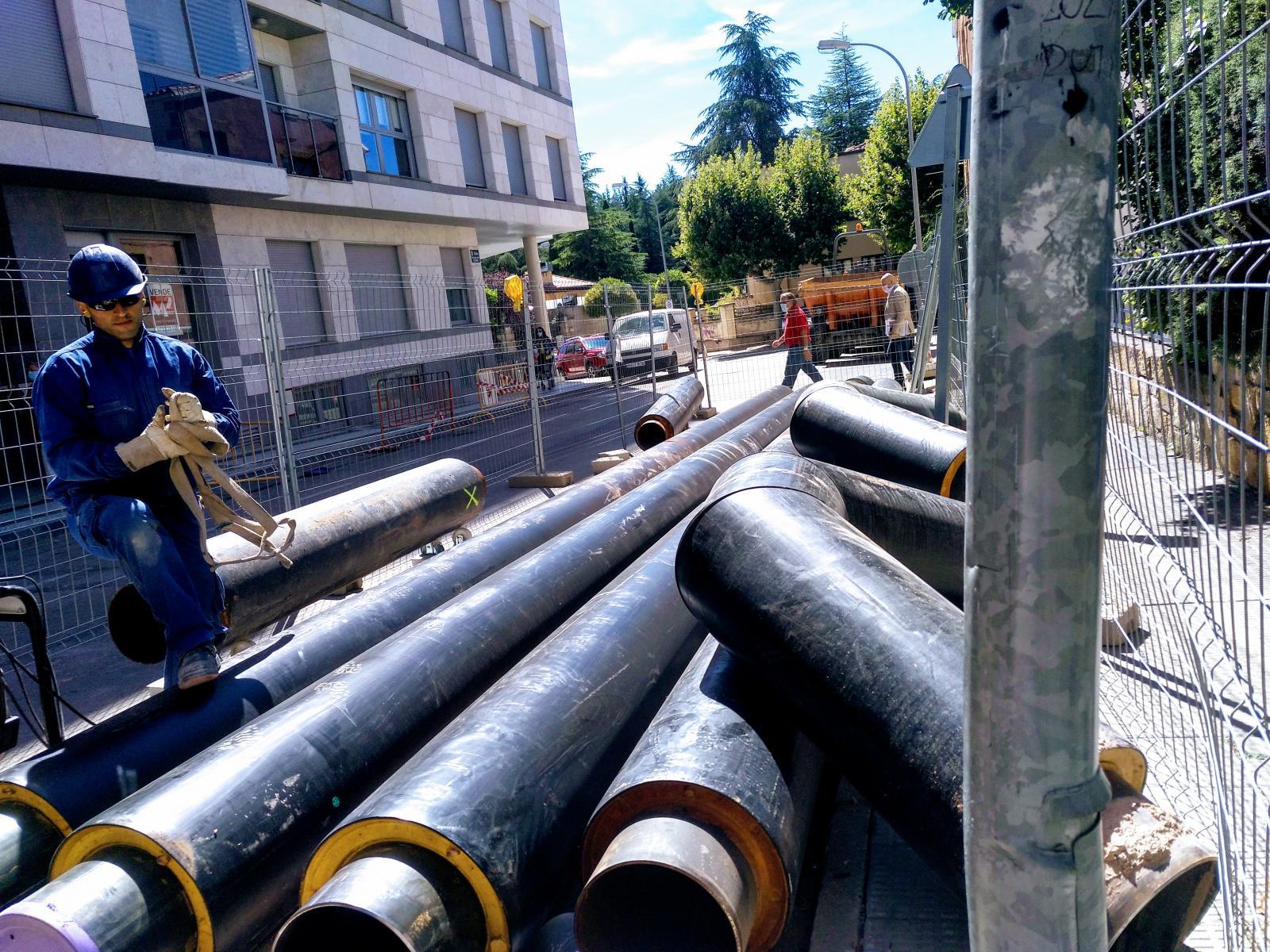 La Red de Calor con Biomasa de Soria inicia su cuarta fase de expansión