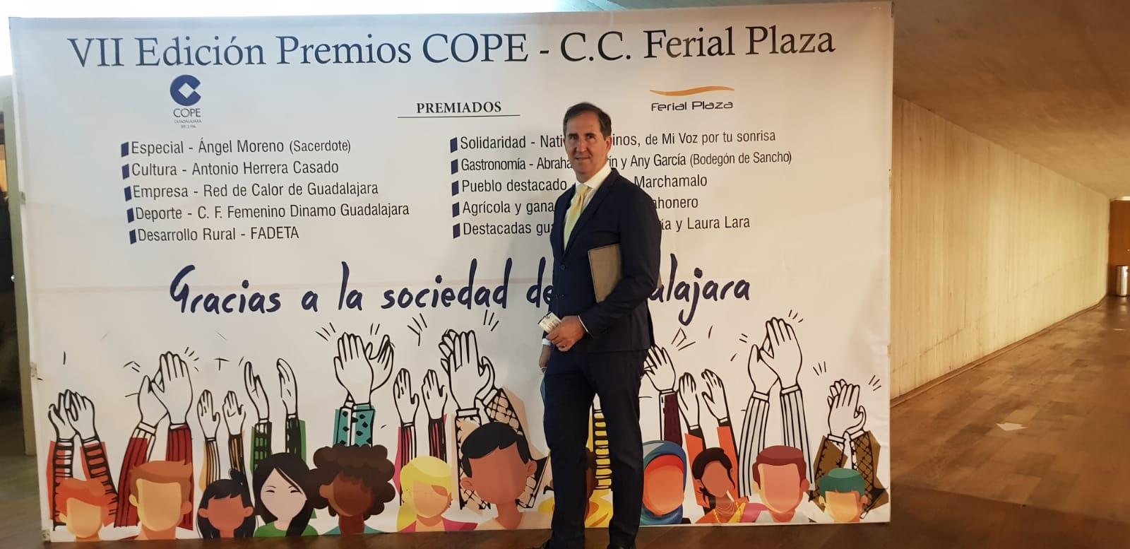 Red de Calor de Guadalajara, premio Empresa Cope Guadalajara 2020