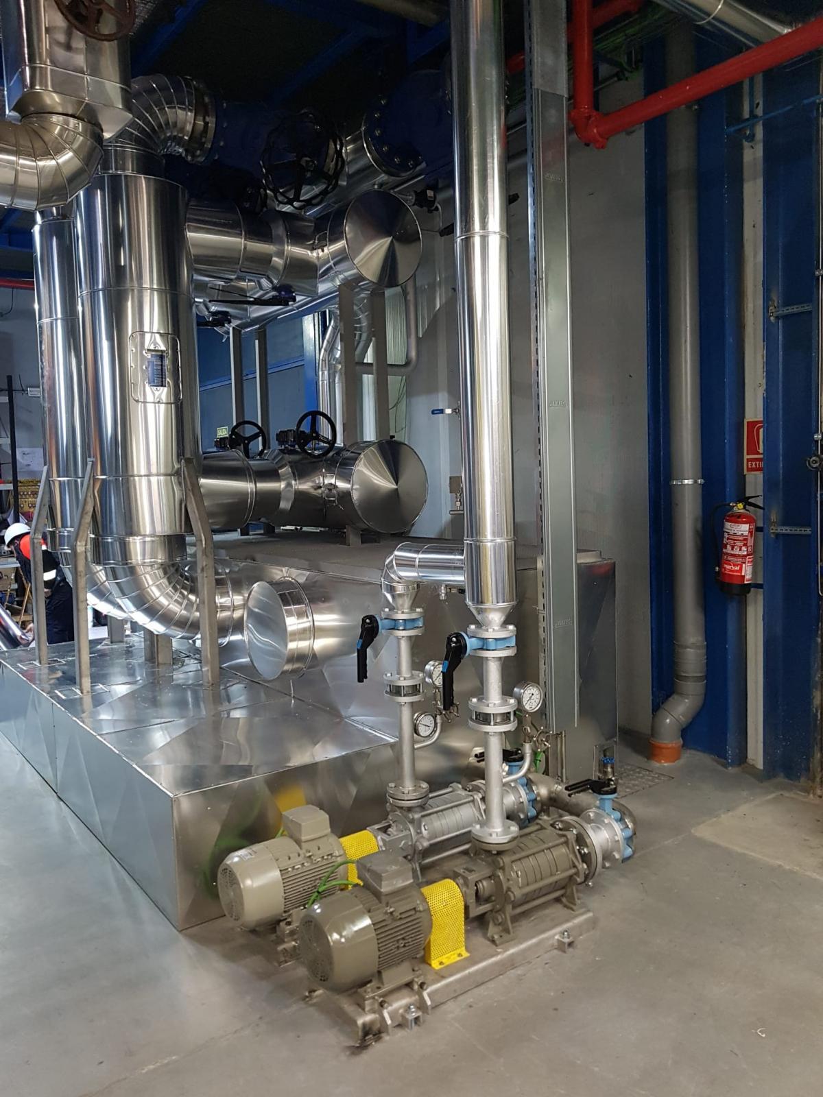 HIbridación Red de Calor y central de Energy Works para Michelín-1