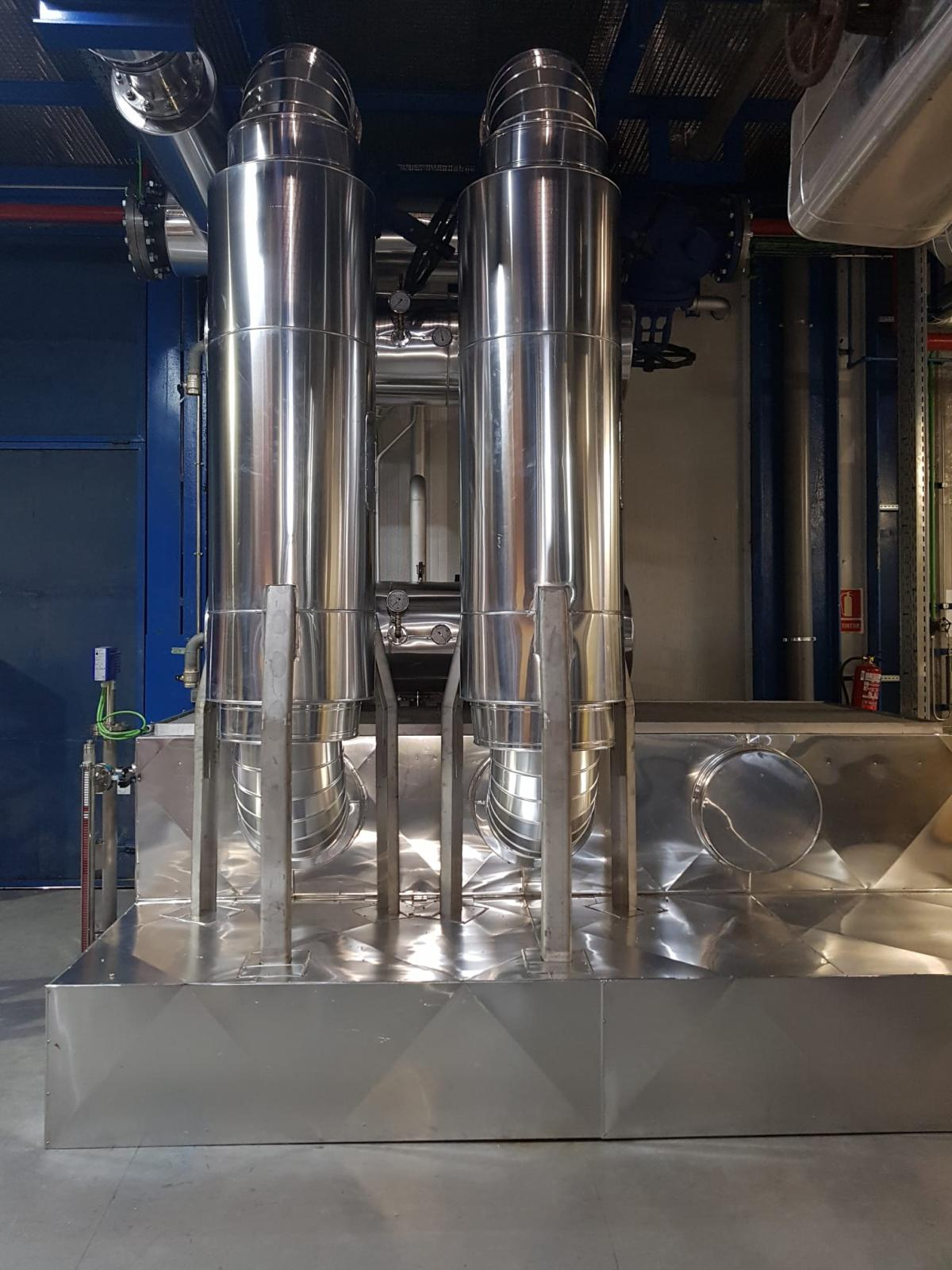 HIbridación Red de Calor y central de Energy Works para Michelín-2