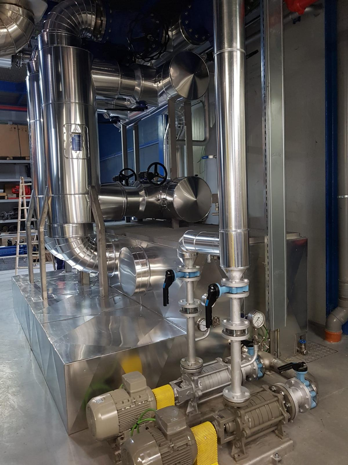 Comienzan con éxito las pruebas de la primera experiencia en España de hibridación entre una Red de Calor con Biomasa y una central de cogeneración