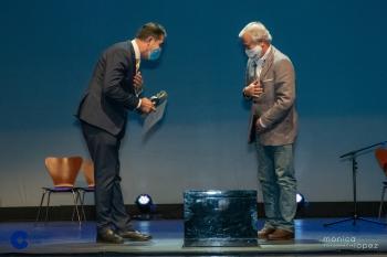 Alberto Gómez entrega de premios