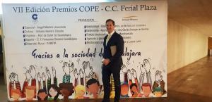 Alberto Gómez en el Photocall de Premios Cope Guadalajara