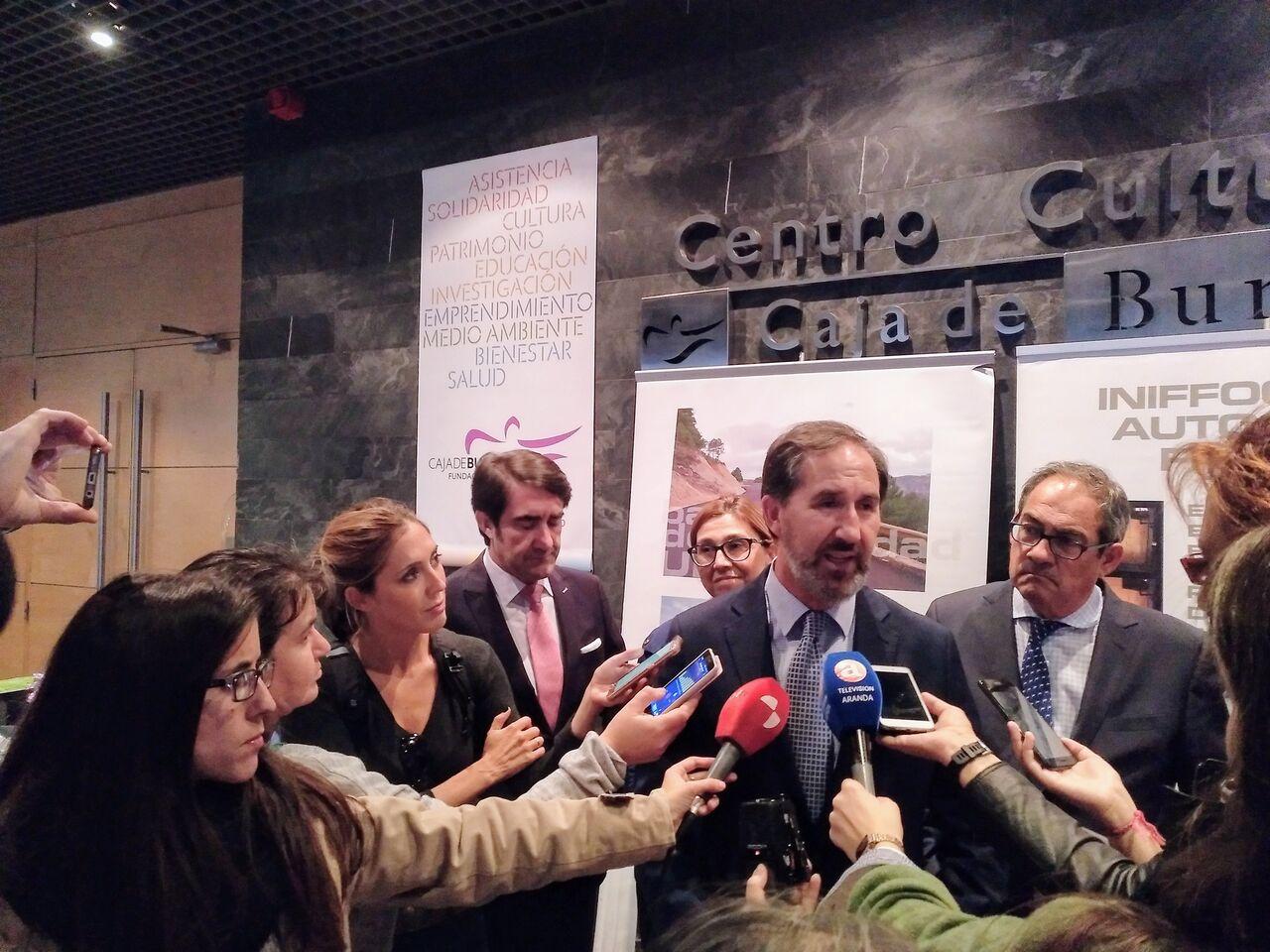 Rebi presenta la Red de Aranda de Duero en la Fundación Caja de Burgos  con gran expectación