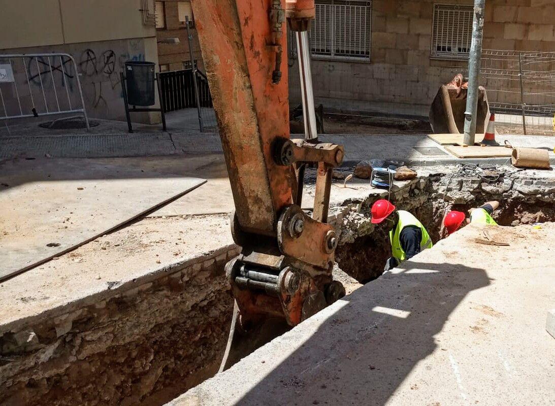 La Red de Calor con Biomasa de Soria despliega su zona de influencia en El Vergel y El Calaverón