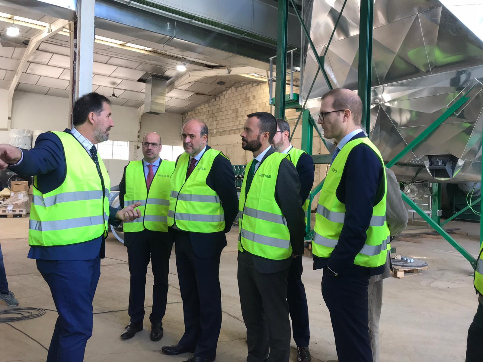 La Junta de Comunidades de Castilla-La Mancha apoya la Red de Calor de Guadalajara a través de sus Instrumentos Financieros