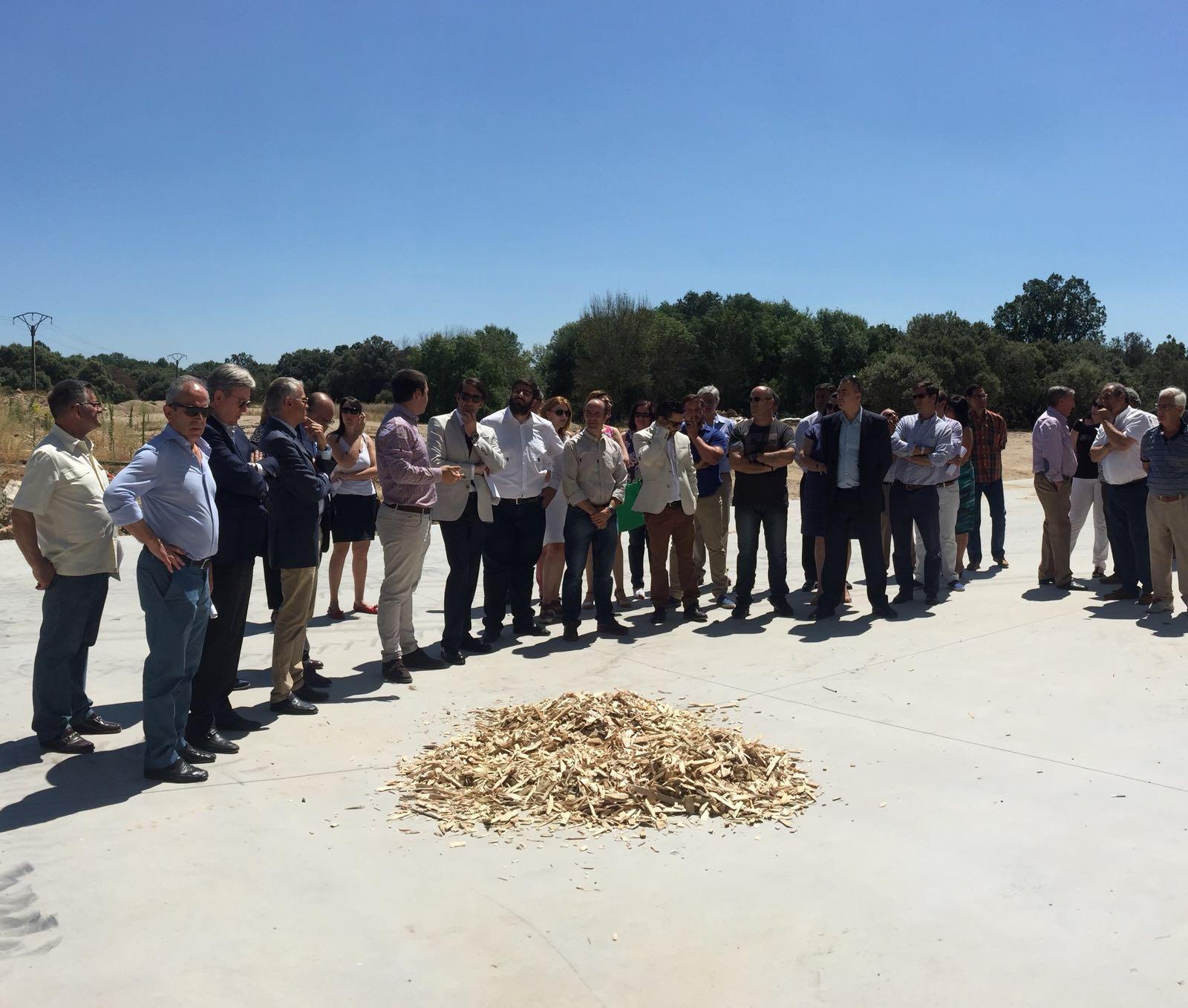 Éxito en los primeros cuatro años de funcionamiento de la planta de astillado de Mombeltrán (Ávila)