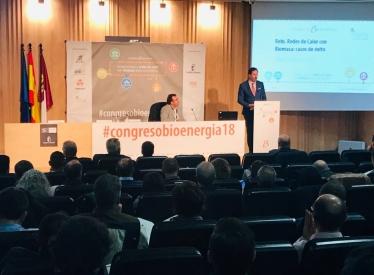 REBI SLU: Rebi expone sus casos de éxito de Redes de Calor en el Congreso Nacional de Bionenergía celebrado en Cuenca