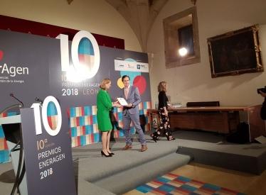 REBI SLU: La Red de Calor con Biomasa de Soria recibe el Premio Nacional de Energía EnerAgen 2018