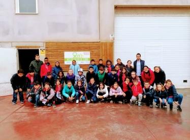 REBI SLU: Los alumnos de 5º de Educación Primaria del colegio Trilema Soria visitan la central térmica
