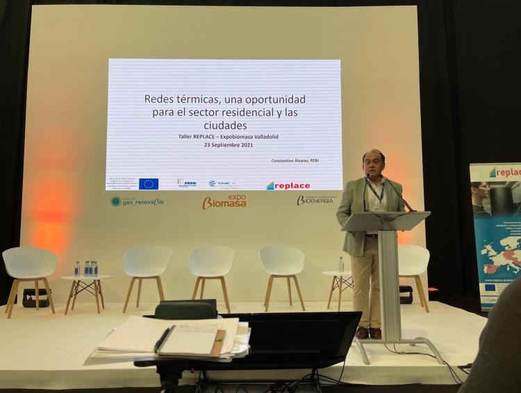 REBI SLU: REBI comparte su experiencia en Redes de Calor en la Feria Internacional Expobiomasa 2021