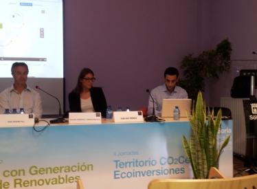 REBI SLU: REBI acapara el interés del público asistente a las II Jornadas Territorio CO2Cero del ayuntamiento de Soria