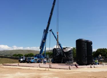 REBI SLU: Llegan a Soria las dos calderas de biomasa de la Central Térmica