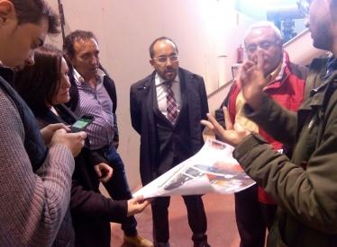 REBI SLU: Los diputados provinciales visitan la Central Térmica de Biomasa de Soria en el marco de su estrategia