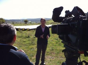 REBI SLU: El gerente de Rebi Alberto Gómez explica para TVE el funcionamiento de la Red de Calor de Soria