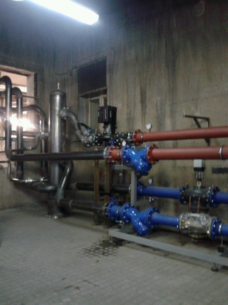 REBI SLU: Trabajadores y pacientes del hospital Virgen del Mirón ya reciben el calor con biomasa de la Red Urbana de Soria