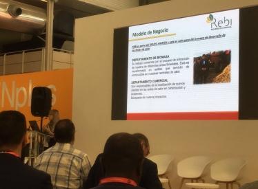 REBI SLU: Rebi expone su modelo de negocio integral de redes de calor en la Feria Expobiomasa