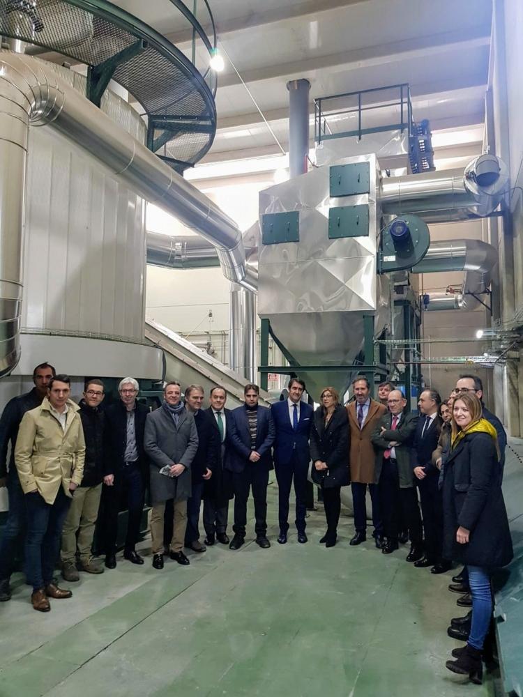 REBI SLU: El consejero de Medio Ambiente inaugura la nueva Red de Calor de Aranda de Duero que abastecerá de energía térmica a 4.600 viviendas