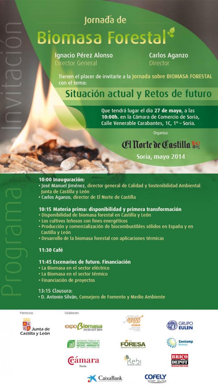 REBI SLU: Rebi participa en la Jornada 'La situación actual y retos de futuro de la biomasa forestal' que organiza la Junta de Castilla y León
