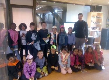 REBI SLU: Alumnos de primaria del Colegio Nuestra Señora del Pilar Escolapios visitan la central térmica de biomasa de Soria