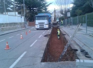 REBI SLU: Cortes intermitentes del tráfico en los próximos días en el paseo de San Andrés de Soria con motivo del desarrollo de las obras de la Red de Calor