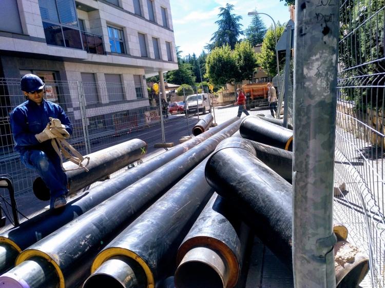 REBI SLU: La Red de Calor con Biomasa de Soria inicia su cuarta fase de expansión