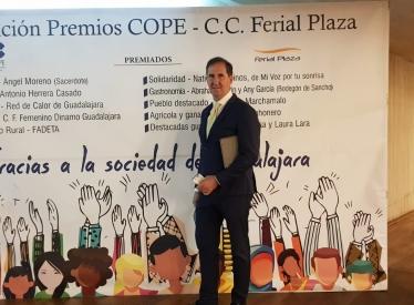 REBI SLU: Red de Calor de Guadalajara, premio Empresa Cope Guadalajara 2020