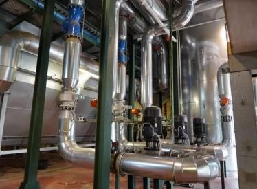 REBI SLU: Las piscinas y los polideportivos de Soria se conectan a la Red de Calor con Biomasa de Soria