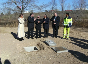 REBI SLU: Fomento coloca La Primera Piedra del District Heating en la Universidad de Valladolid como punto de partida del nuevo proyecto