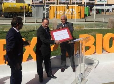 REBI SLU: La Red de Calor con Biomasa de la UVA, galardonada con el premio 'Fomenta la Bioenergía' de Avebiom