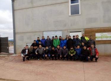 REBI SLU: Alumnos de FP de Instalaciones Térmicas de Tolosa (Guipúzcoa) visitan la Red de Soria