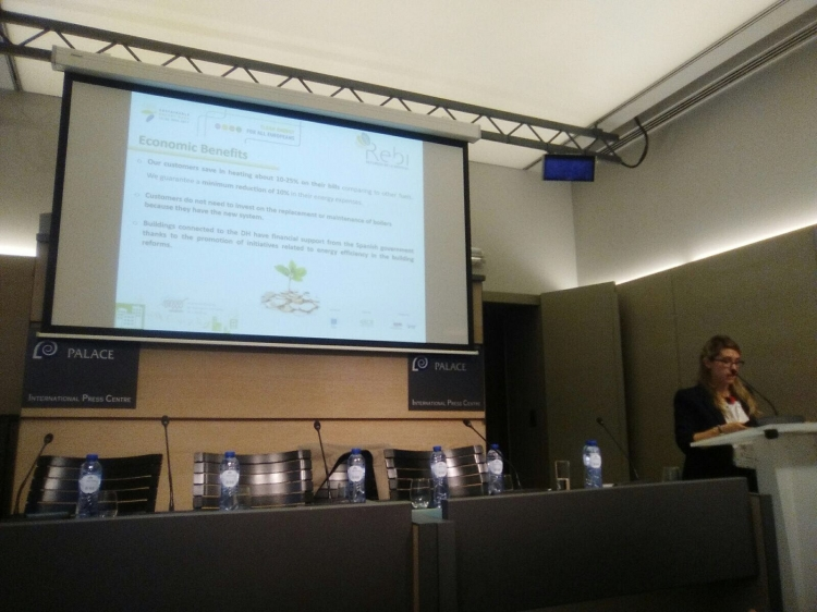 REBI SLU: Soria representa a España en la 'Semana de la Energía Sostenible de Bruselas' organizada por Europa