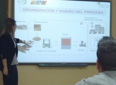 REBI SLU: Rebi explica la Red de Calor a los alumnos del Master de Bioenergía y Sostenibilidad Energética